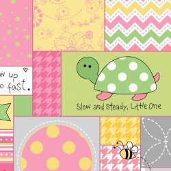 MASF8221-ZP LITTLE ONE FLANNEL TOO! ALLOVER PATCH