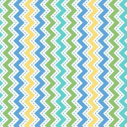 MASF8223-B LITTLE ONE FLANNEL TOO! ZIG ZAG