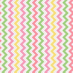 MASF8223-P LITTLE ONE FLANNEL TOO! ZIG ZAG