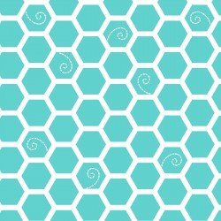 MASF8226-Q LITTLE ONE FLANNEL TOO! HONEYCOMB