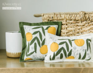 Clementine Blossoms Pillows
