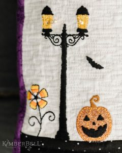 Candy Corn Flower, Lamp Post, and Jack-o'-Lantern