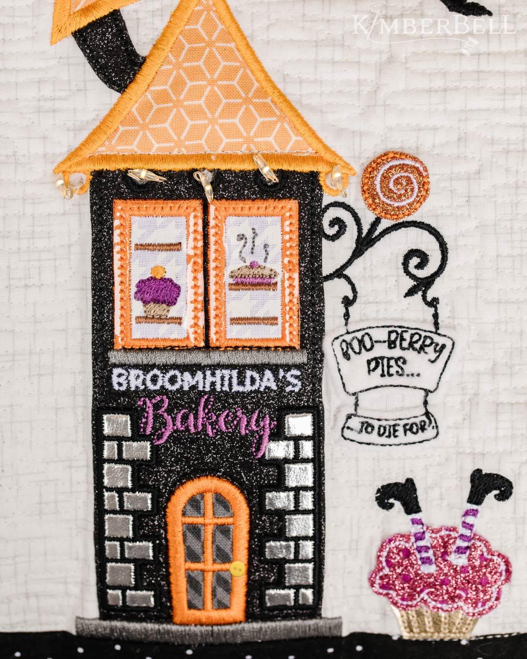 Twilight Boo-levard Broomhilda's Bakery Close-up