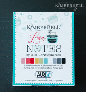 Love Notes Thread-Aurifil