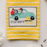 Picture of Let's Get Ready to Bumble Tea Towel
